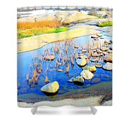 Do You Know The Secret Of The Pond Shower Curtain