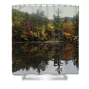 Pond In Jackson Shower Curtain