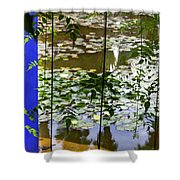 Pond In Marrakesh Shower Curtain