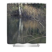 Pond In The Hollow Shower Curtain