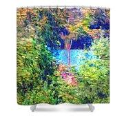 Pond Overlook Shower Curtain