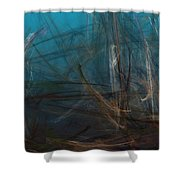 Pond Water Shower Curtain