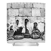 Ponfils 1898 Arab Women Shower Curtain
