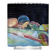 Pono--harmony Shower Curtain