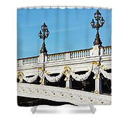 Pont Alexandre IIi - Paris, France Shower Curtain