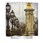 Pont Alexandre IIi Paris Shower Curtain