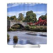 Pont Fawr Shower Curtain