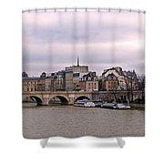 Pont Neuf In Paris Shower Curtain