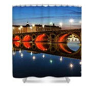 Pont Neuf In Toulouse Shower Curtain