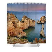 Ponta Da Piedade Stairs Shower Curtain