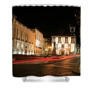 Ponta Delgada At Night Shower Curtain