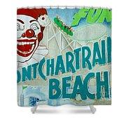 Pontchartrain Beach Shower Curtain