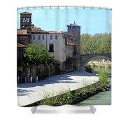 Ponte Cestio Shower Curtain