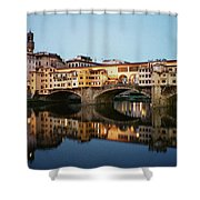 Ponte Vecchio Shower Curtain