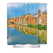 Ponte Vechhio Bridge 1 Shower Curtain