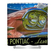 Pontiac 3 Shower Curtain