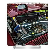 Pontiac Firebird 295 Shower Curtain