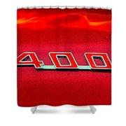 Pontiac Firebird 296 Shower Curtain
