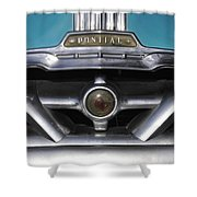 Pontiac Grill Shower Curtain