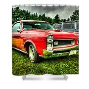 Pontiac Gto 029 Shower Curtain