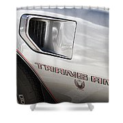 Pontiac Trans Am Limited Edition Shower Curtain