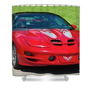 Pontiac Trans Am Shower Curtain