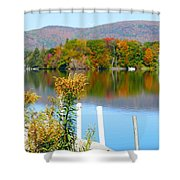 Pontoosuc Foliage 3 Shower Curtain