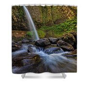 Ponytail Falls Shower Curtain
