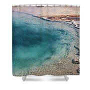 Pool's Edge One Shower Curtain
