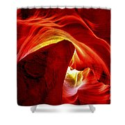 Pool Of Fire Shower Curtain