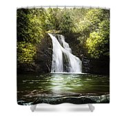 Pool Of Light Shower Curtain