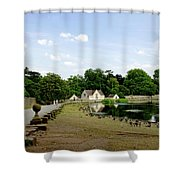 Pool Road - Melbourne Shower Curtain
