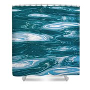 Pool Water Art Shower Curtain