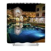 Poolside Boracay Shower Curtain