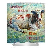Poor Miss Bessie Shower Curtain