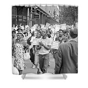 Poor Peoples March, 1968 Shower Curtain