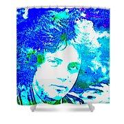 Pop Art Billy Joel Shower Curtain