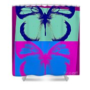 Pop Art Morphosis Shower Curtain