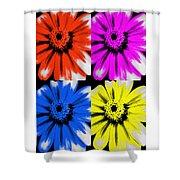 Pop Art Petals Shower Curtain