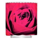 Pop Art Rose Shower Curtain