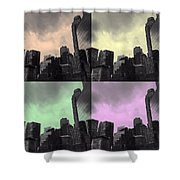 Pop City 2 Shower Curtain