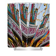 Popcorn Shower Curtain by Skip Hunt