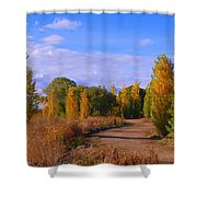 Poplar Lane Shower Curtain