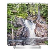 Poplar Stream Falls Shower Curtain