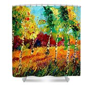 Poplars '459070 Shower Curtain