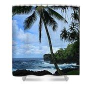 Poponi Ulaino Mokupupu Maui North Shore Hawaii Shower Curtain