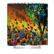 Poppies 456150 Shower Curtain