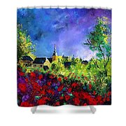 Poppies In Villers Shower Curtain