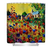 Poppies Sosoye Shower Curtain