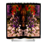 Popping Flowers Shower Curtain